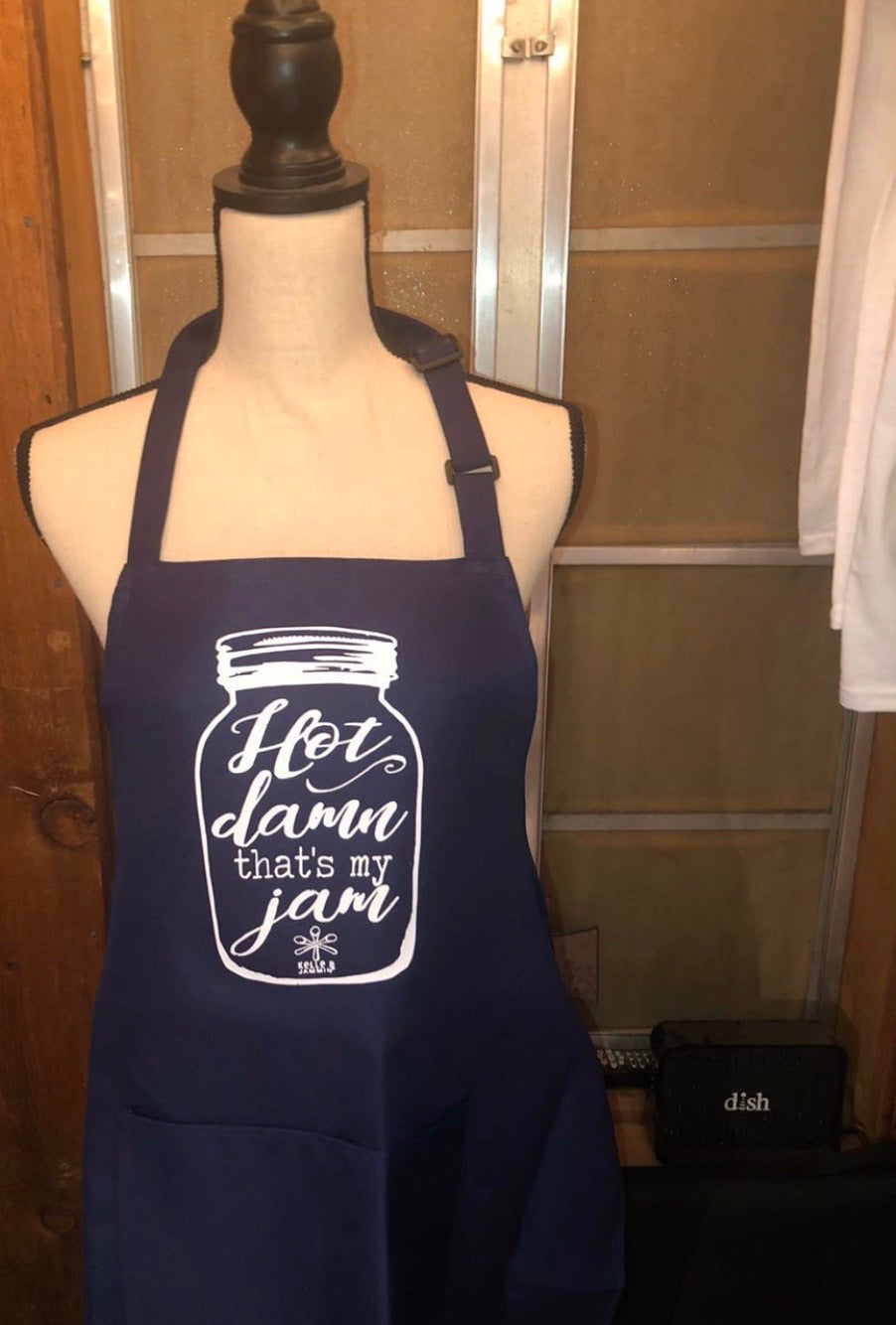 """Hot Damn That's My Jam"" Apron"