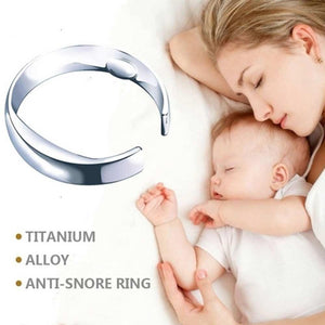 Ultimate discrete anti-snoring ring
