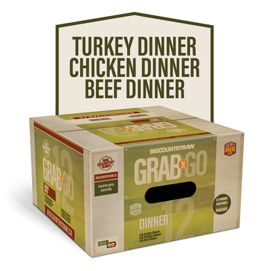 Copy of Big Country Raw Grab N Go Dinner 12 - 12LBS