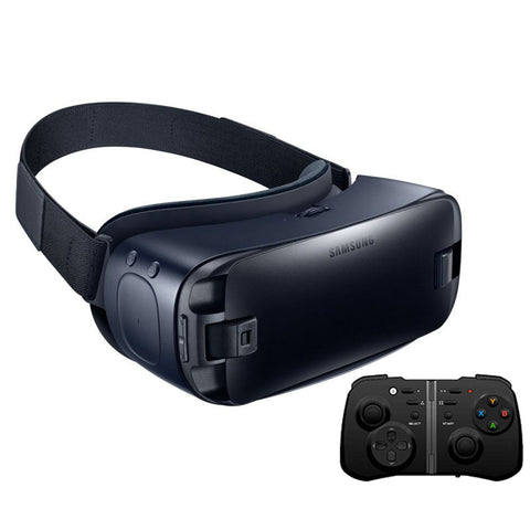 Gear VR 4.0 Virtual Reality 3D Glasses for Samsung Galaxy S8 S8+ Note7 Note 5 S6 S6 Edge S6 Edge+ S7 S7 Edge + Bluetooth Gamepad