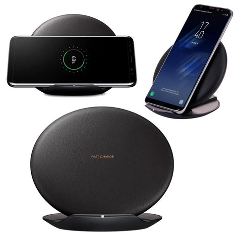 Original For Samsung Qi Fast Wireless Charger Rapid Charging Stand Quick Charger for Samsung Galaxy S8 / S8 Plus Qi Charging#25