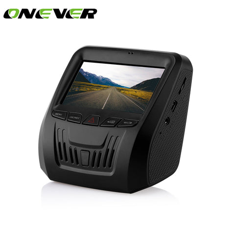 Onever Dash Cam Car Camera Recorder Full HD 1080P 150 Degree Wide Angle Video Dashboard Support G-Sensor Recording Motion