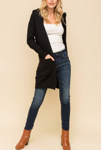 Weekender Long Cardigan Sweater