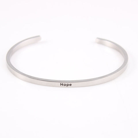 Message Bracelet Bangle - Buy 1 Get One FREE