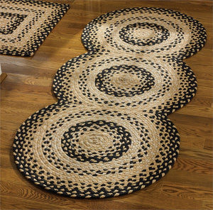 Cornbread Braided Rug Runner