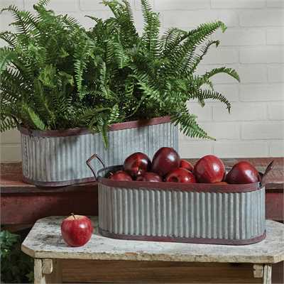 Lexington Troughs Set of 2