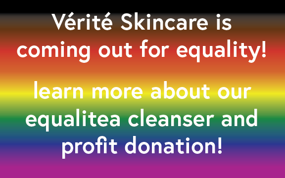 equalitea cleanser for pride month + how we're making a difference