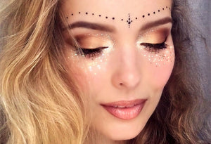 easy spring summer festival makeup ideas