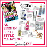 As seen in Life&Style magazine