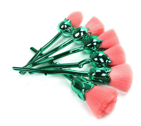 CoShine Pro Enchanted Rose Flower Brush Set