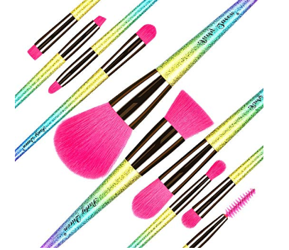 Party Queen Makeup Brushes Set
