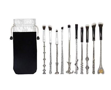 CINIDY Wizard Wand Potter Makeup Brushes Set