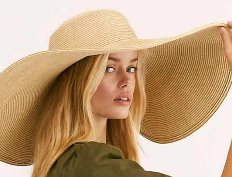 Shady Character Wide Brim Hat by Free People