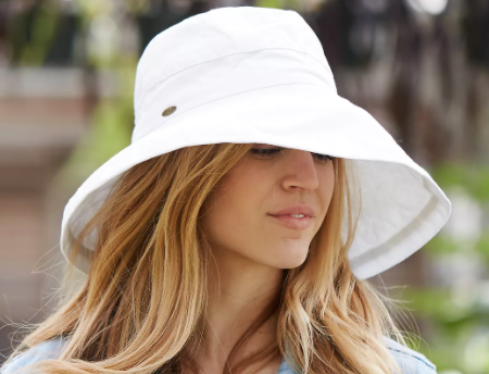 Cotton Crusher Hat by Anthropologie
