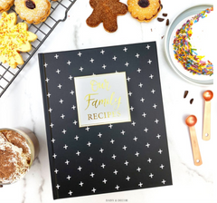 mothers day recipe book gift idea