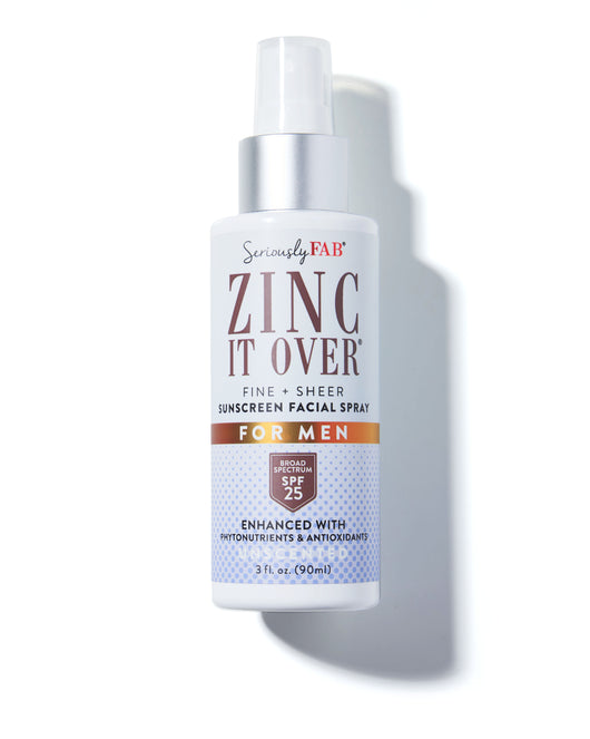 Best facial sunscreen spray for men.