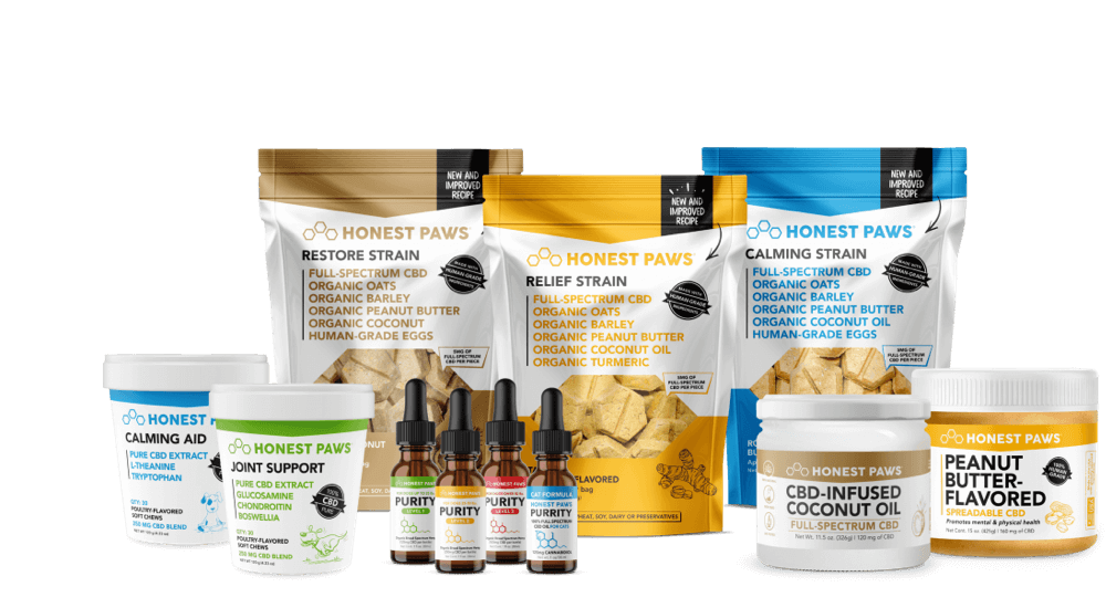 The #1 Rated CBD Oil and Treats For Dogs | Honest Paws