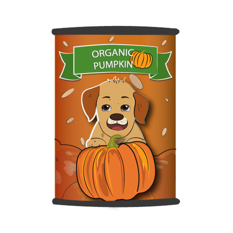 canned pumpkin for dogs