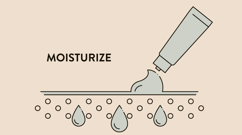 Moisturizing is the most important step in your skincare regimen