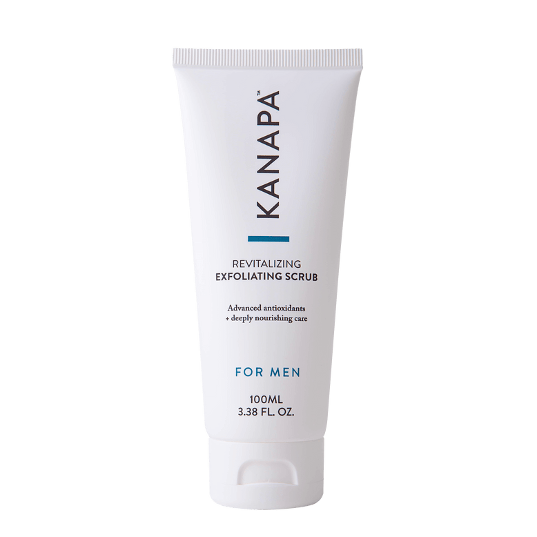 Buy our Revitalizing Exfoliating Scrub For Men online now in the United Kingdom - Scrub away dead skin cells with this natural, bio-degradable men's exfoliator for smooth, revitalized skin.