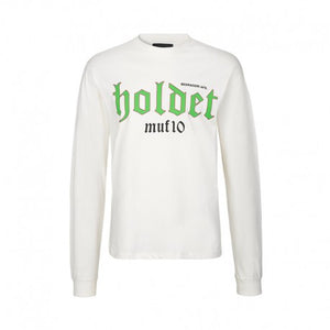 HOLDET Long sleeve t-shirt in white