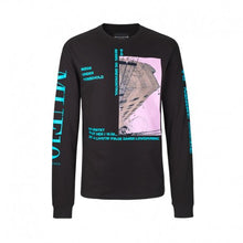 ROLAND Long sleeve T-shirt in black