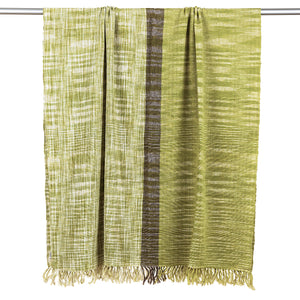 Ikat Cotton Linen Throw