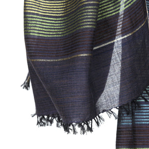 Handwoven Cotton Silk Scarf