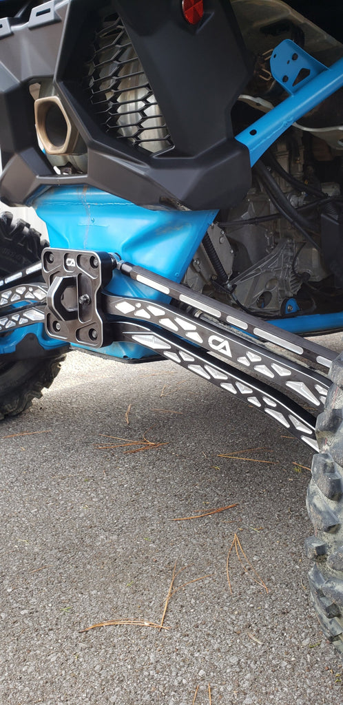 Can-Am X3 Billet High Clearance Radius Rods - CA Tech