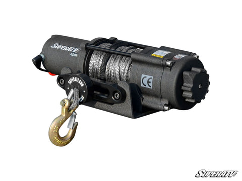 4500 lb. Black Ops UTV/ATV Synthetic Rope Winch - Super ATV