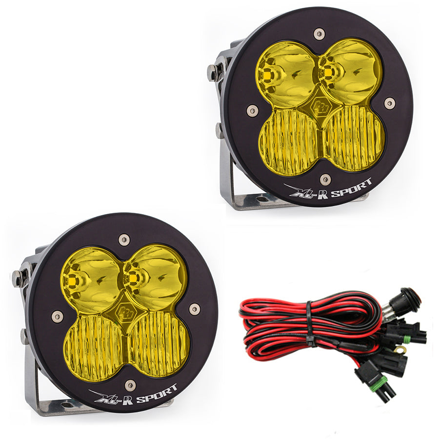 XL-R Pro - Pair Driving / Combo LED - Amber - Baja Designs