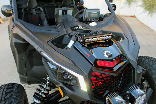 "S8 Shock Mount Kit For 10"" Light Bars - Can-Am X3 - Baja Designs"