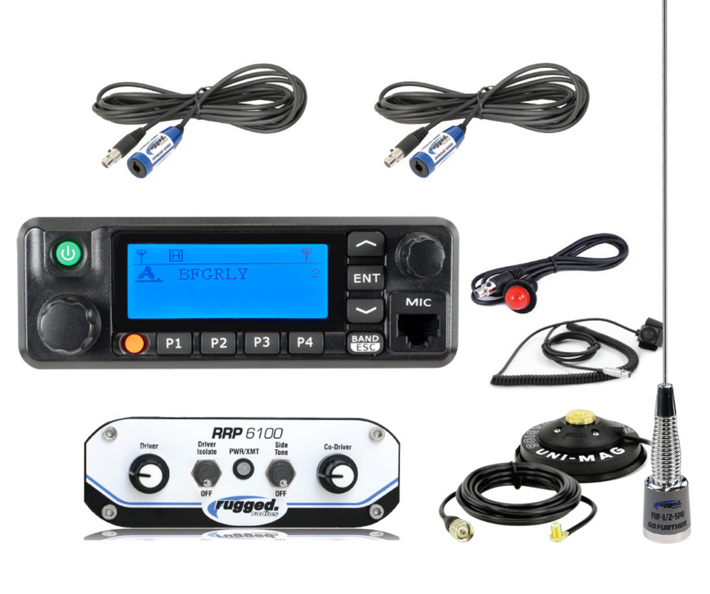 RRP6100 2-Place Race System with Digital Mobile Radio Kit