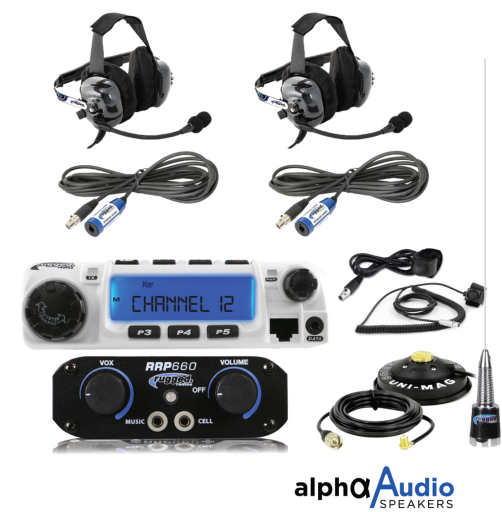 RRP660 2-Person System with 60-Watt Radio and BTU Headsets TEST