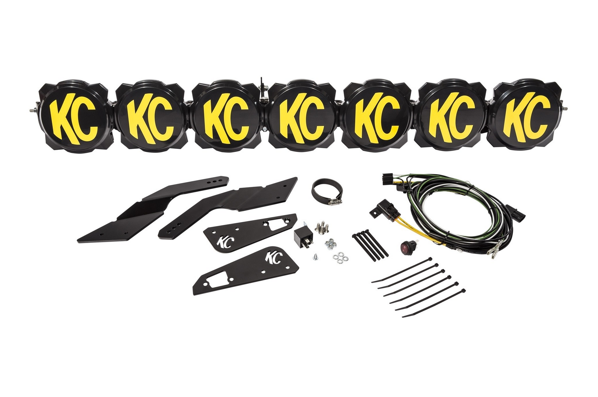 Can-Am Maverick X3 17-19 Pro6 LED Mounting Bracket Set - KC HiLites - #73425