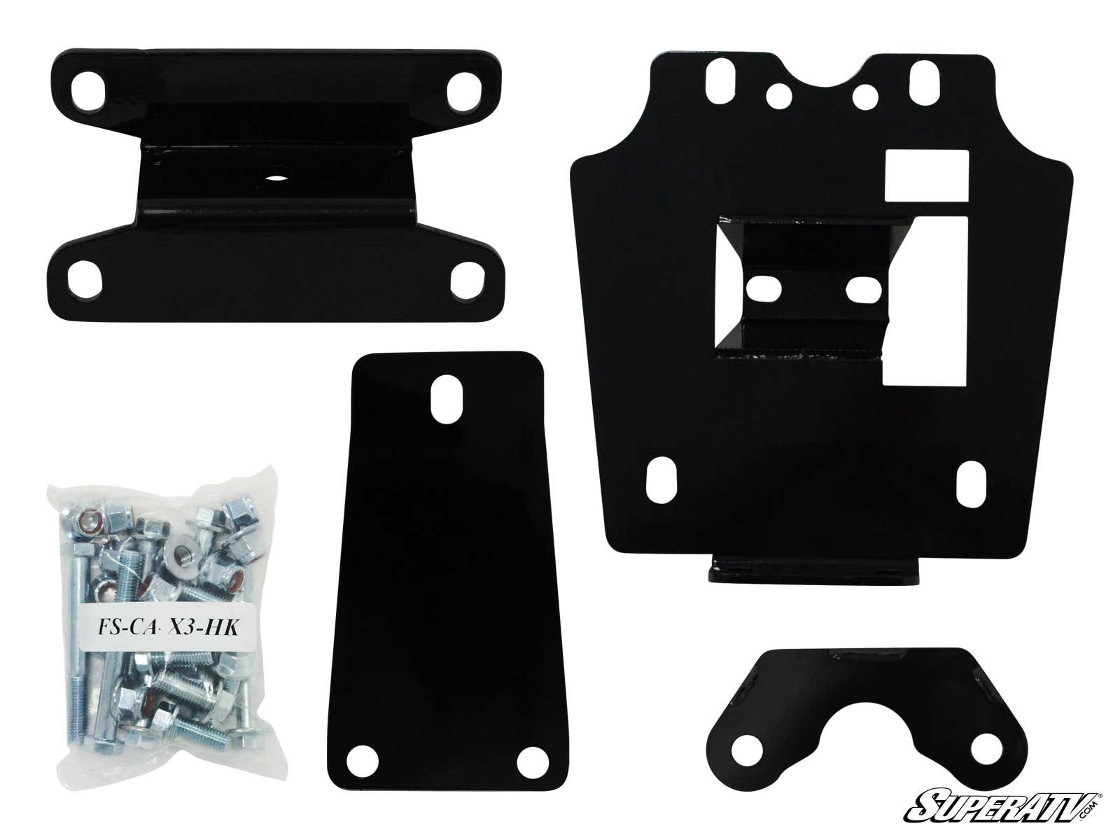 Can-Am Maverick X3 Frame Stiffener Kit / Gusset Kit - Super ATV