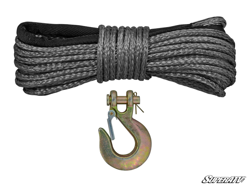 Synthetic Winch Rope Replacement 50 ft. - Super ATV
