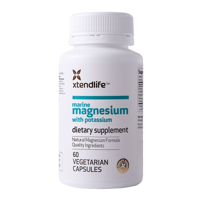 Buy our Marine Magnesium with Potassium online now in Australia - An excellent source of natural bio-available magnesium to assist with cardiovascular and general health.