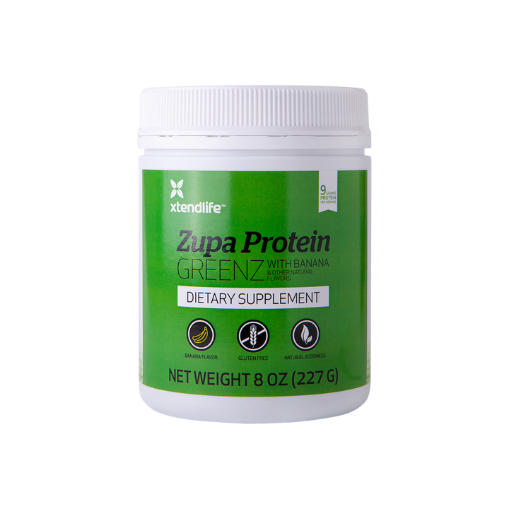 Zupa Protein GREENZ with Banana