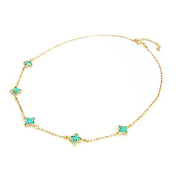 Ocean Mix Stars Necklace