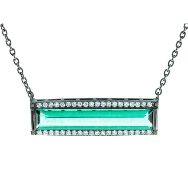 Midnight Green Flash Necklace