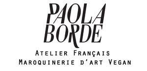 Sac Vegan Paola Borde - Maroquinerie d'art Vegan