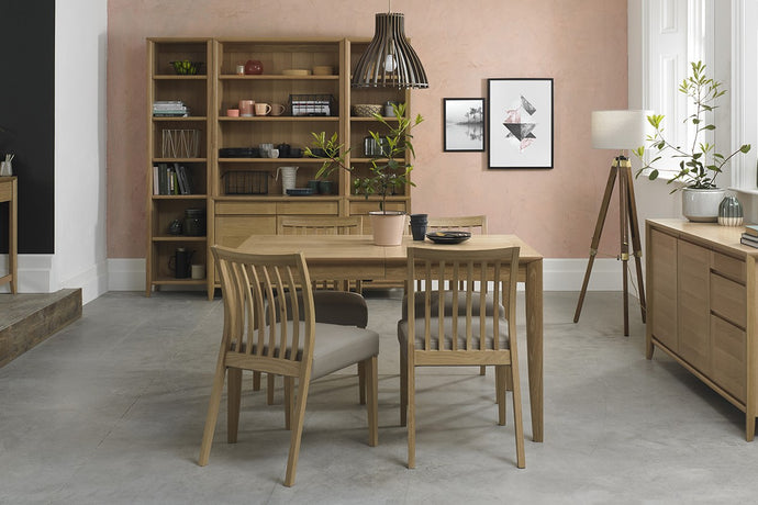 Austin Oak 5-Piece Dining Set - Everhome Designs