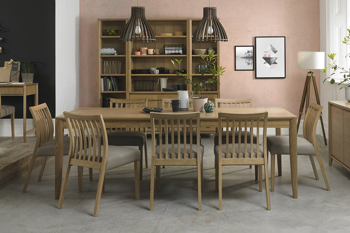 Austin Oak 9-Piece Dining Set - Everhome Designs