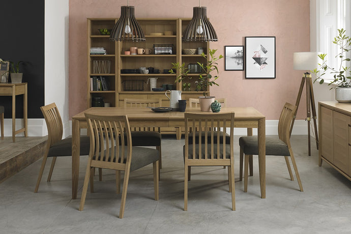 Austin Oak 7-Piece Dining Set - Everhome Designs