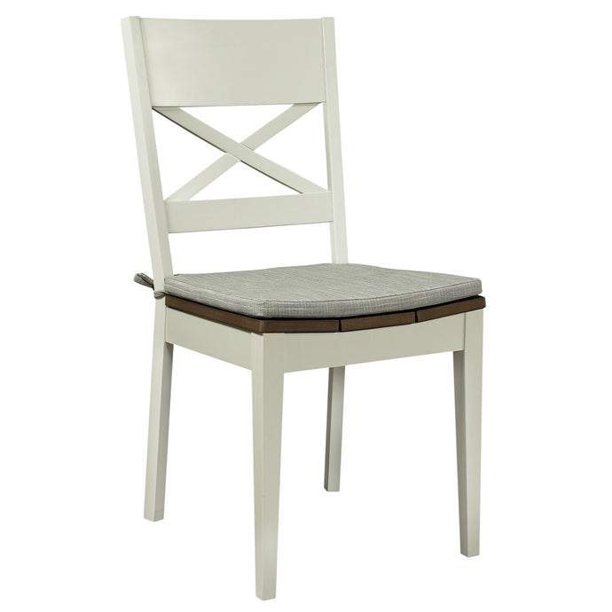 Newport 2-Tone Dining Chair (Set of 2) - Everhome Designs