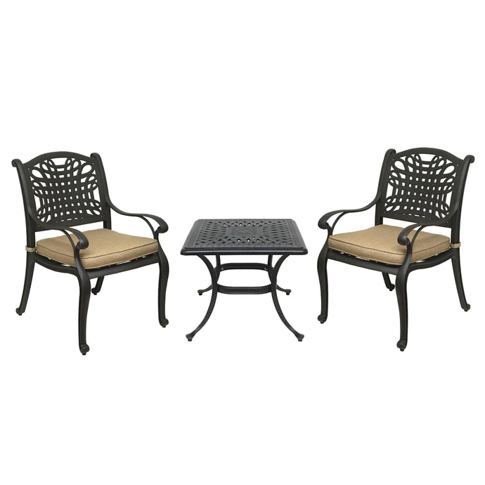 Malibu 3-Piece Bistro Set - Everhome Designs