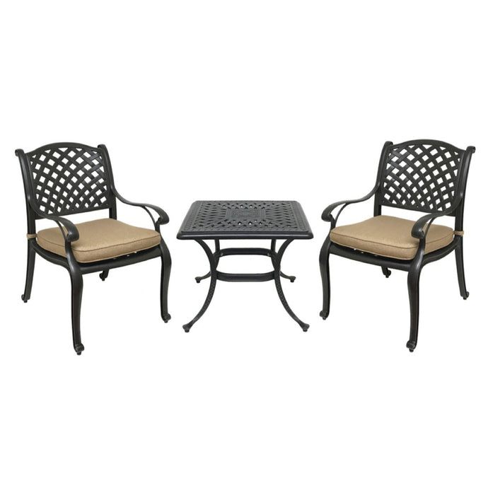 Nevada 3-Piece Bistro Set - Everhome Designs