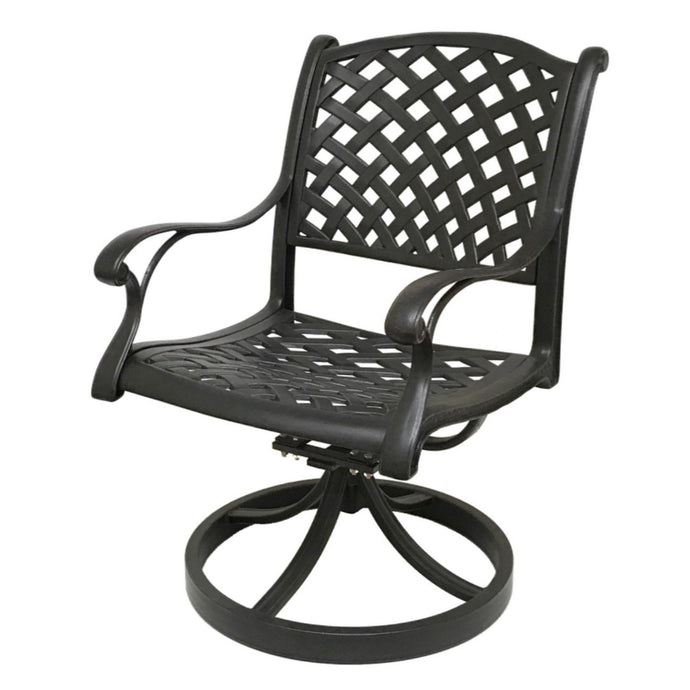 Nevada Swivel Rocking Chair (Set of 2) - Everhome Designs