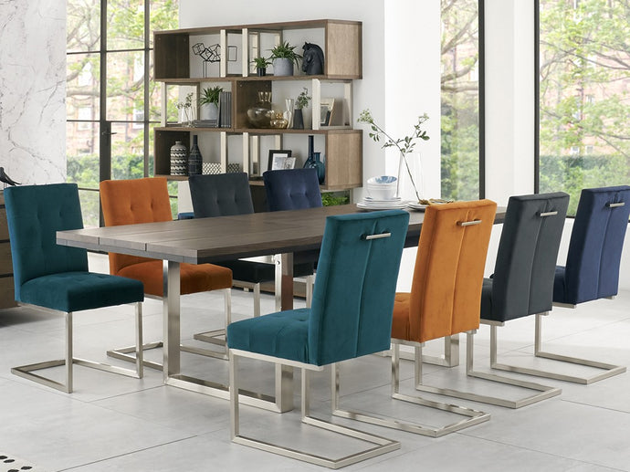 New York 9-Piece Dining Set - Everhome Designs